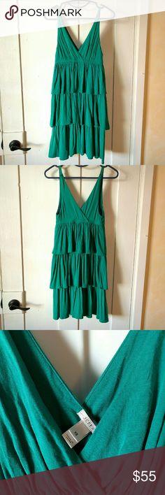 J. Crew dress Summer dress from j crew. Run bigger will fit small too. 95% modal, 5% spandex. Almost new. J. Crew Dresses
