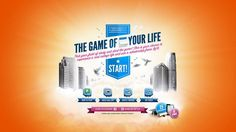 The Game of Your Life - Case Video (EN). Projects into the future using social posts of what your life will be like.