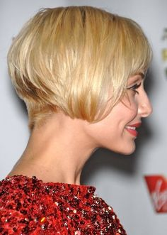 Low Stacked/ Graduated Bob - good cut for fine hair