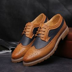 b75ac096ffe Retro Wingtips · Loafers MenBroguesFormal ShoesDress ...