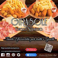 Girasole Braci e Pizza, scopri il nostro menu Online !