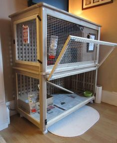 I made a indoor rabbit cage from the IKEA HOL storage boxes. It's for Edward, my dwarf rabbit. House Rabbit, Pet Rabbit, Rabbit Cage Diy, Indoor Rabbit House, Indoor Rabbit Cages, Indoor Guinea Pig Cage, Diy Bunny Cage, Rabbit Hutch Indoor, Rabbit Toys