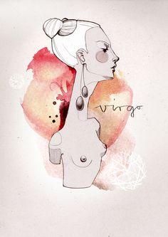 VIRGO - Zodiac Series by Ekaterina Koroleva