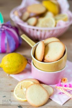 Fine Azora lemon cookies - All About Easy Smoothie Recipes, Easy Cookie Recipes, Snack Recipes, Coconut Recipes, Cream Recipes, Pumpkin Smoothie, Lemon Cookies, Pumpkin Spice Cupcakes, Fruit Smoothies