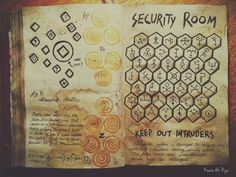 Security Room - Journal 3 Gravity Falls by KisaraAkiRyu on DeviantArt Gravity Falls Anime, Gravity Falls Book 1, Gravity Falls Journal 1, Libro Gravity Falls, Gravity Falls Bill, Life Journal, Journal Pages, Dipper And Mabel, School Tool