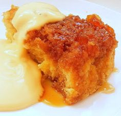 Steamed Ginger Pudding: classic English comfort food | Scrumptious South Africa- GORGEOUS blog for SA food!!