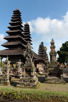 Temple de Taman Ayun - Bali, Indonesia