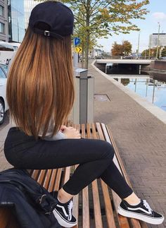 Want to see best looks of ombre hair color 2017-2018? Browse here to see best ideas of ombre hair along with long straight smoth haircuts to use nowadays.