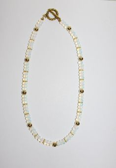 Handmade Ethiopian Opal Beaded Necklace                by SCLadyDi, $34.95