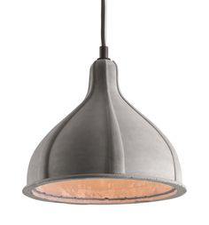 Zuo Modern 50204 Prospect Ceiling Lamp Concrete Gray