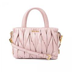 MIU MIU BAGS D91 OPALE Miu Miu Matelasse, Luxury Fashion, Dusk, Shoulder Bag a14f8214d7