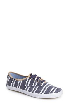 Keds® 'Champion - Washed Beach Stripe' Sneaker (Women) available at #Nordstrom