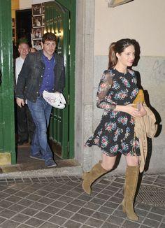 Iker Casillas y Sara Carbonero, romántica cena para dos