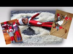25 DIY happy Christmas wrapping ideas how to. Transform the boring wrapped gifts to awesome decorations with easy ideas. Here are 25 easy ways to add a creat. Christmas Wrapping, Christmas Ideas, Wrapping Ideas, Gift Wrapping, Wrapped Gifts, Elf On The Shelf, December, Wraps, Shelves