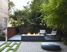3 Creative And Inexpensive Cool Ideas: Large Fire Pit Middle fire pit gazebo porches. Landscaping With Rocks, Modern Landscaping, Garden Landscaping, Landscaping Software, Landscaping Ideas, Gazebo, Diy Pergola, Modern Landscape Design, Landscape Architecture