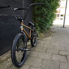 Today's goes to and his signature Subrosa Code frame build up! The Trans Golden color is one of my favorites that's Subrosa has done. Looks great Nick, thanks for the support! Bmx 20, Bmx Parts, Bicycle Parts, Bmx Cruiser, Bmx Street, Push Bikes, Bmx Freestyle, New Motorcycles, Bike Parking
