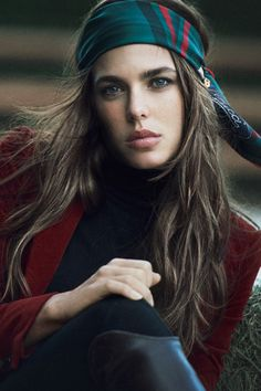 Charlotte Casiraghi, Princesse de Monaco: hippy-chic for Gucci