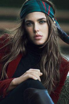 Charlotte Casiraghi, Princesse de Monaco: hippy-chic for Gucci