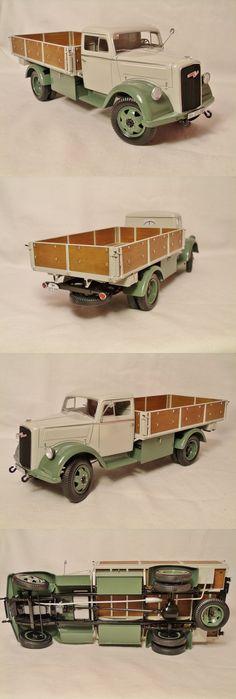 Italeri Opel Truck Model