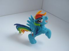 SALE Rainbow Dash from My little pony figure от GhostessTale