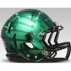 Oregon Ducks Liquid Thunder HydroFX Riddell Revolution Speed Full Size Authentic Football Helmet