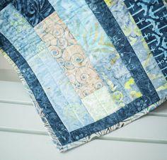 Timeless Treasures Tonga Treats Fat Quarter Fabric & Slide Rule Pattern Quilt Kit - None