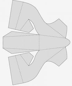 Chaussure en papier
