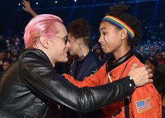 Pin for Later: Les 31 Meilleures Photos des MTV VMAs Jared Leto et Willow Smith