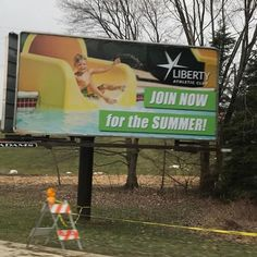 Lachlan is on the billboard again this year!!   One of my reasons for #wine Spring must be coming! #funisundertheflap #momlife