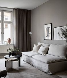 Living Room : Home decorated in warm tints  via Coco Lapine Design blog