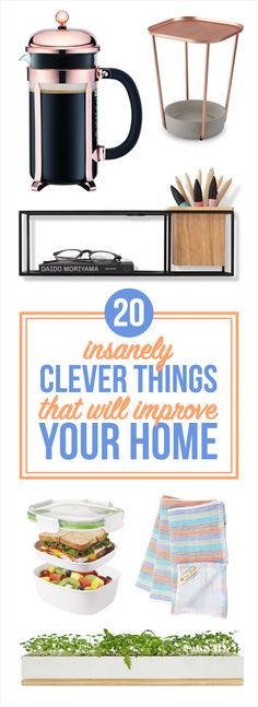 18 Insanely Clever Things That Will Improve Your Home