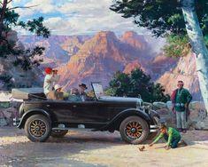 Descargar fondo de pantalla retro coche Chrysler, Chrysler, 1924, Harry Anderson 1600x1200