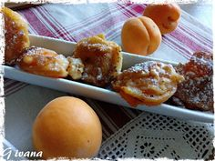 U nás...: Smažené meruňky French Toast, Food And Drink, Breakfast, Morning Coffee, Morning Breakfast