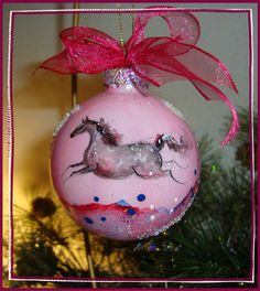 Trail of Painted Ponies Horse Tiered Chrystal Pendant-Laredo Horse-Pink