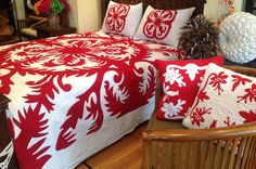Kilauea a Pele Cook Islands Flag, Queen Size, King Size, Maori Words, Hawaiian Quilts, Bamboo Rayon, Tahiti, Bed Sheets, Hand Painted