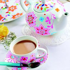 1000 images about diy tea party pretties on pinterest for Ceramic mural tutorials