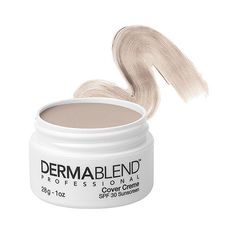 Dermablend Dermablend Cover Creme SPF 30 - Chroma 0 Pale Ivory (57 NZD) ❤ liked on Polyvore featuring beauty products, makeup, face makeup, dermablend cosmetics, fragrance free makeup, dermablend makeup, spf makeup and dermablend
