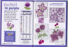 Милые сердцу штучки: Вышивка крестом: 101 цветочный мотив в 5-ти тонах от Zweigart