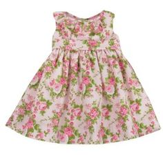 Vestido-Florido---Rosa---Encanto-de-Crianca