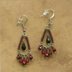 wirework chandelier earrings - Google Search