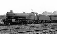 6847 Tidmarsh Grange Tyseley Shed May 1949 Diesel Locomotive, Steam Locomotive, Steam Railway, Great Western, Wolverhampton, Steam Engine, Westerns, Engineering, British