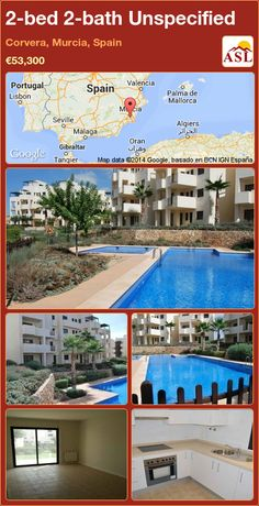 Unspecified for Sale in Corvera, Murcia, Spain with 3 bedrooms, 2 bathrooms - A Spanish Life Valencia, Portugal, Murcia Spain, Spanish House, Built In Wardrobe, Central Heating, Apartments For Sale, Kitchen Styling, Beautiful Beaches
