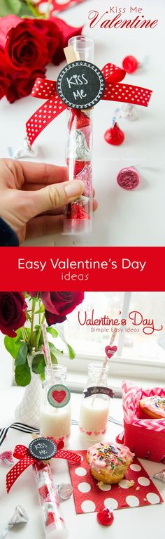 a DIY for a small budget. this valentine project is a recipe to success!