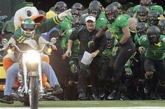 Chip Kelly with the Ducks, where he belongs :)
