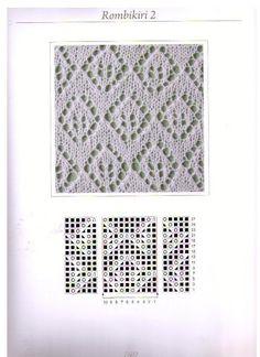 Estonian Lace stitch with staggered diamonds ~~ estońskie szale - 红阳聚宝5 - Picasa Web Albums
