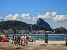 Río de Janeiro - Brasil | Playa Copacabana, la más conocida de Río de Janeiro | http://riodejaneirobrasil.net