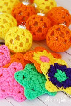 Crochet-Ball-Ornaments-and-Crochet-Granny-Stars-Michaels-Dream-Tree.jpg (500×750)