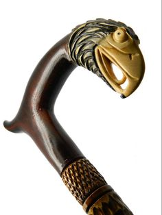 Walking Stick Cane Eagle and Snake Hand carved of by GiftCaneShop, $59.99