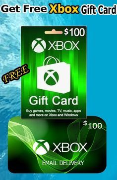 Get Free Xbox Gift Card Xbox Gift Card Xbox Gifts Free Gift Card Generator