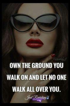Own it ladies